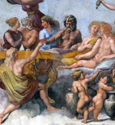 Banchetto-degli-Dei-farnesi-lacciuganelbosco.com